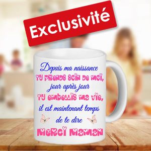 tasse maman achat vente tasse maman pas cher cdiscount. Black Bedroom Furniture Sets. Home Design Ideas