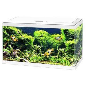 AQUARIUM Ciano - Aquarium 60 LED - Blanc
