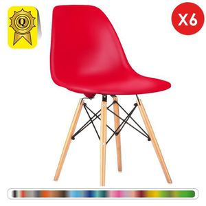 Chaise Design Vente Rouge Pas Achat Vn8n0mwyo Cher H9IDEW2