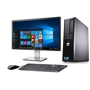 ORDI BUREAU RECONDITIONNÉ Ordinateur de bureau Windows 10 de Dell optiplex C