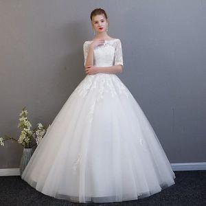 75e17c3ae4e ROBE DE MARIÉE Nouvelle robe de mariée épaule de mot version coré