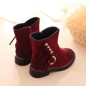 BOTTE Hiver filles Armée enfant style Martin Boot chauss