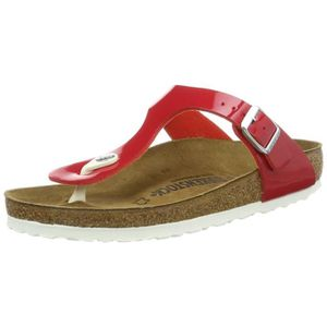 pretty nice 1deb0 592b8 TONG Gizeh Cuir naturel, Femmes 0 VHO9F Taille-42