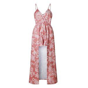 add4bf42676 ROBE Robe de plage d été pour femme à bretelles imprimé ...