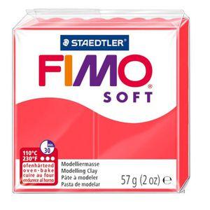 JEU DE PÂTE À MODELER DTM LOISIRS CREATIFS Boîte 6 Fimo Soft flamingo 40
