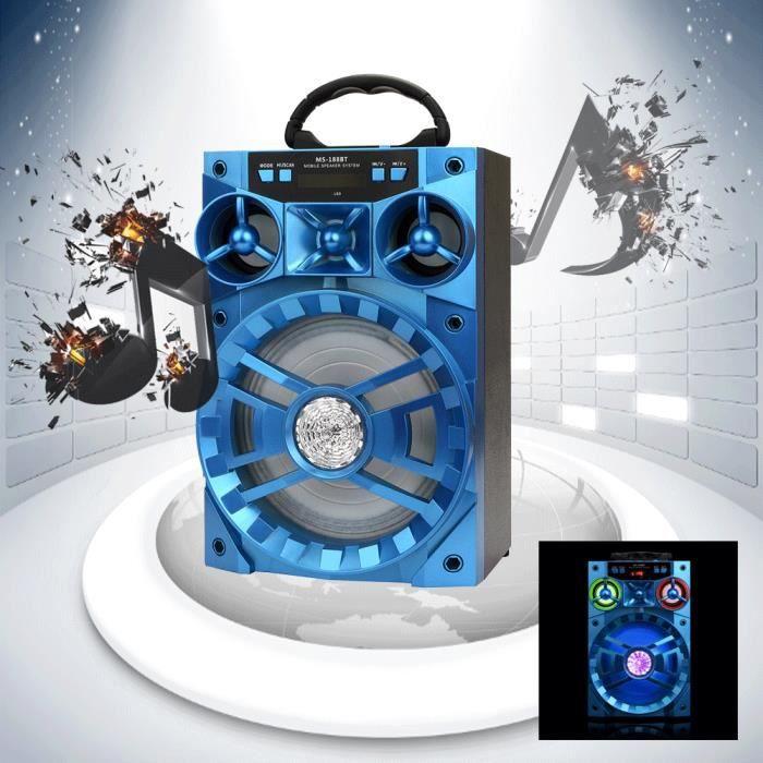 Extérieur Sans Fil Bluetooth Haut-parleur Portable Super Bass Avec Radio Usb - Tf Aux Fm _ly349