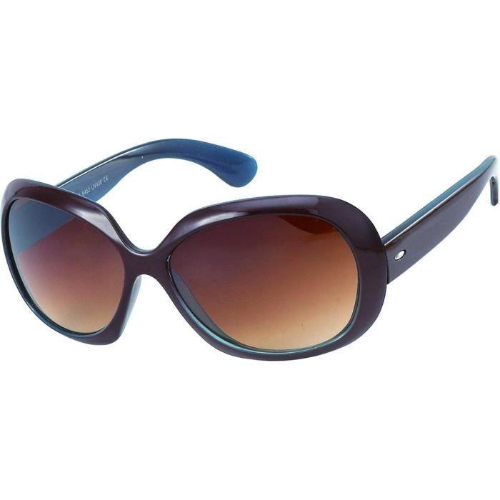 a461d34a0aaaf1 9194 ovales brune lunettes effet double intérieur 9196 9197 monture bleu  Lunettes wxOFPXqgnS