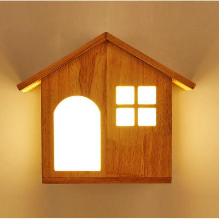Nordique Créatif Applique de Chevet Moderne Maison d\'oiseau Désign ...