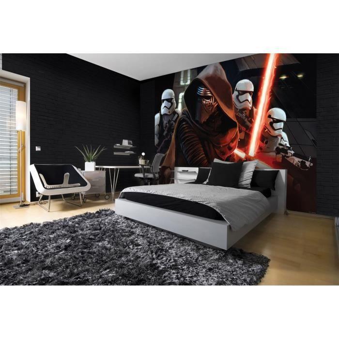 Grand Papier Peint Star Wars Le Reveil De La Force 416 X 290 Cm