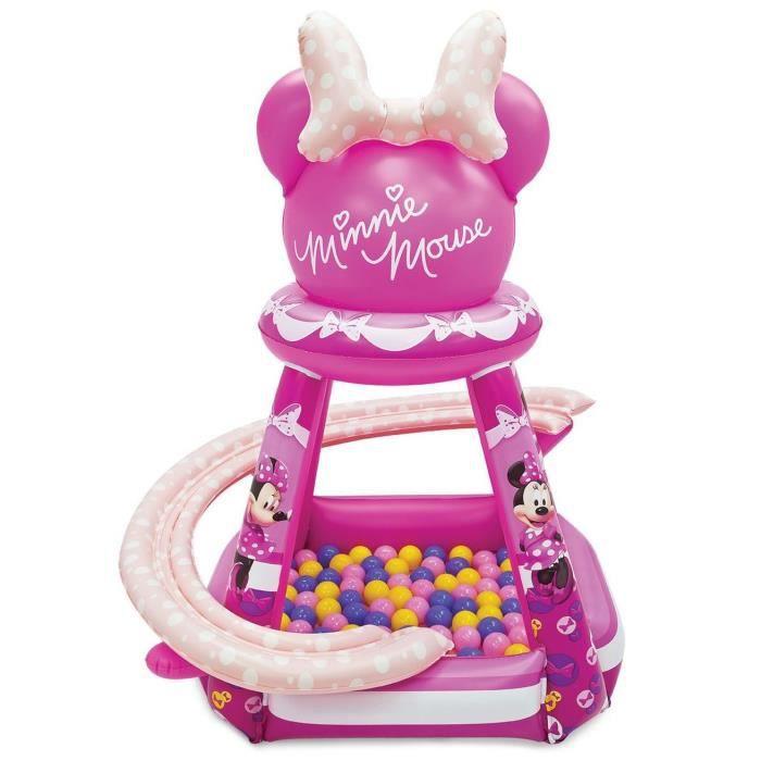Disney Minnie Aire De Jeu Gonflable 50 Boules Achat