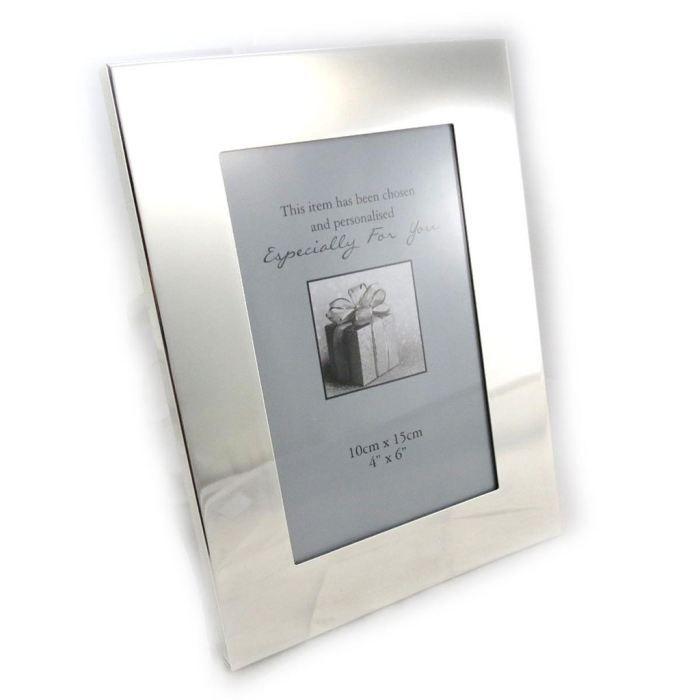 cadre photo design chrome 10x15 cm achat vente. Black Bedroom Furniture Sets. Home Design Ideas