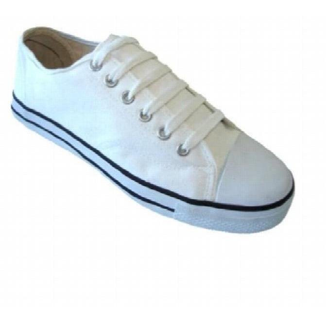 Femmes Classique Chaussures de toile Espadrilles 6 couleurs C2NKS Taille-37