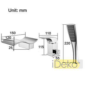 mitigeur bain douche cascade achat vente mitigeur bain. Black Bedroom Furniture Sets. Home Design Ideas