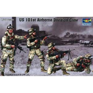 KIT MODÉLISME Us 101st Airborne Division Crew Figure Set, Scale