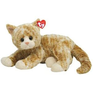 PELUCHE TY CLASSIC Peluche chat - Petite taille