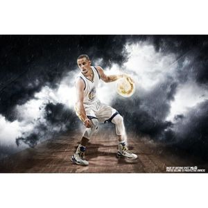 PLV - AFFICHE Stephen Curry 2017 NBA finales Basketball Sports A