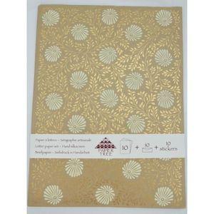 Papier à lettre Papier à lettre sérigraphié (feuilles enveloppes s