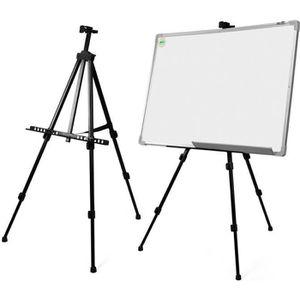 CHEVALET DE PEINTRE Tableau Blanc Artiste Telescopique Champ Studio Ch