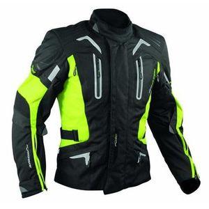 BLOUSON - VESTE Blouson Moto Tissu Veste Imperme...