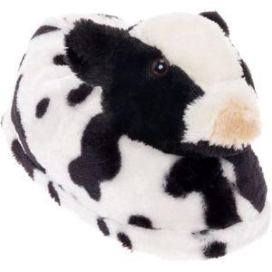 bfdb398e7ecac CHAUSSON - PANTOUFLE Chaussons de vache en peluche femmes - animaux Cha