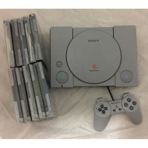 CONSOLE PS1 console playstation 1 + 10 jeux