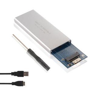 DISQUE DUR SSD M.2 NGFF SSD SATA vers USB 3.0 Coffret de rangemen
