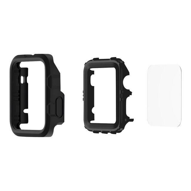 GRIFFIN Survivor Tactical Protection d'écran pour montre connectée - Compatible Apple Watch (38mm) - Noir