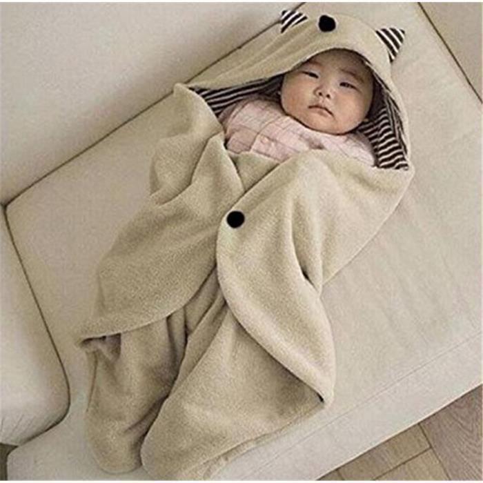 Couverture a capuche pour b b lit couffin berceau dodo 78cm x 35cm achat - Cdiscount berceau bebe ...