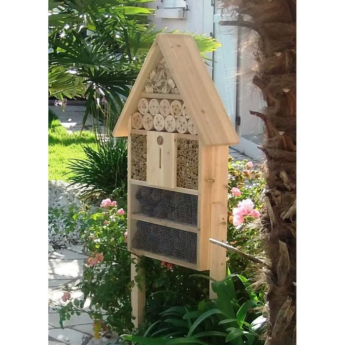 Hotel a insectes achat vente hotel a insectes pas cher for Prix hotel pas cher