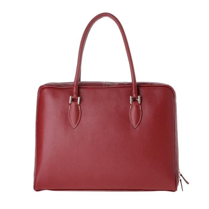 Dudu - Sac porté épaule - Dollaro - Petra - Bordeaux - Femme