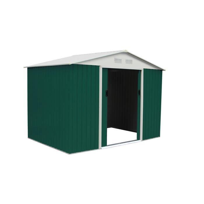 acheter populaire 2b88f a4f04 Abri de jardin métal Rosas - 5,29 m² - Achat / Vente abri ...