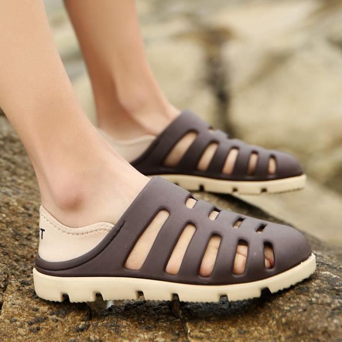 Fond épais printemps et chaussures d'été Sandales pour hommes