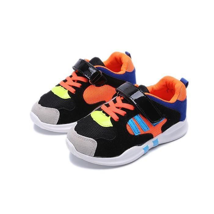 Basket Chaussures de sport souples et décontractées pour enfants unisex
