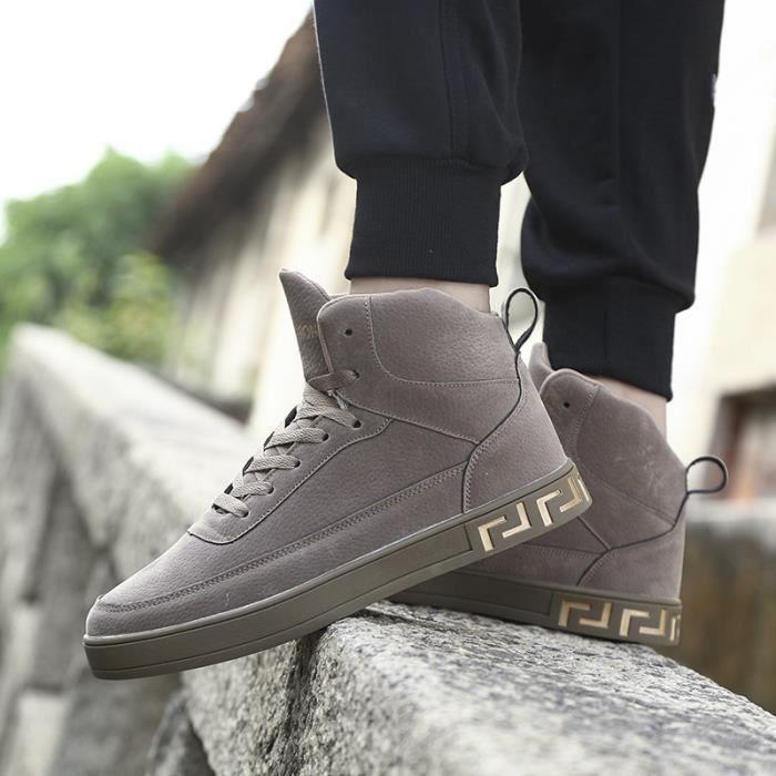 rouge noir Sneakers Taille gris Couleur Haut Qualité Confortable De Mode Hommes Luxe 2018 39 Chaussure Marque Classique Nouvelle 44 rarWAZq6