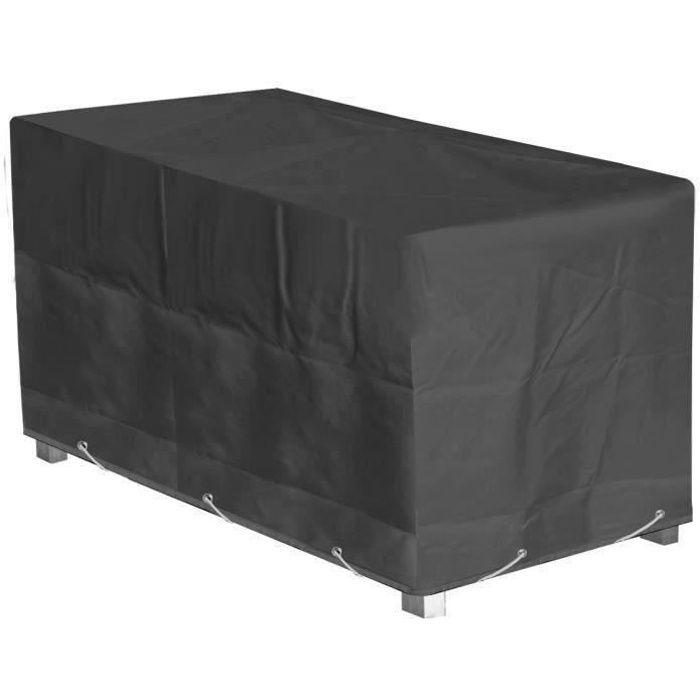 housse pour table de jardin achat vente pas cher cdiscount. Black Bedroom Furniture Sets. Home Design Ideas