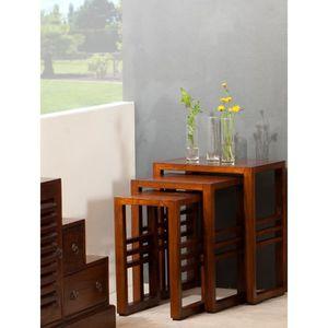 table basse gigogne achat vente table basse gigogne. Black Bedroom Furniture Sets. Home Design Ideas