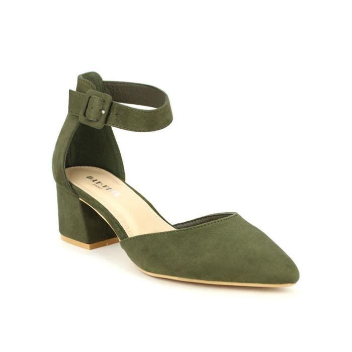 Chaussures escarpin Escarpins Cendriyon Kaki Femme PwaYErqa