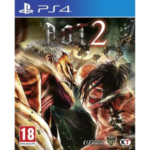 JEU PS4 L'attaque des Titans 2 Jeu PS4