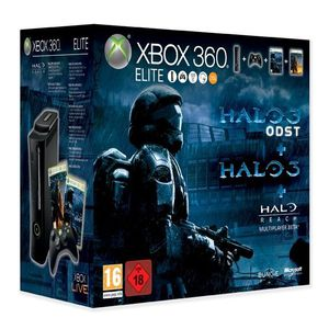 CONSOLE XBOX 360 PACK CONSOLE XBOX 360 ELITE HALO ODST ULTIMATE- I