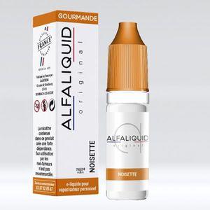 LIQUIDE Lot de 10x E-Liquide noisette Alfaliquid en 06mg