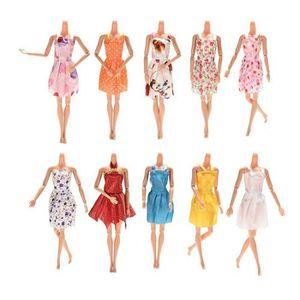 POUPÉE Deuxsuns_®12 PC Barbie Dress Up vêtements Lot pas