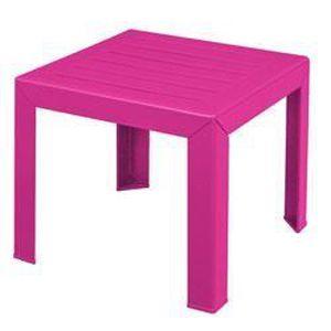 Table de jardin rose - Achat / Vente Table de jardin rose pas cher ...