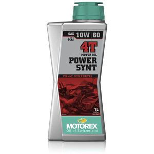 HUILE MOTEUR MOTOREX - Huile Moto POWER SYNT 4T 10W60 1Litre