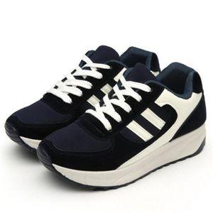 Enval Sneakers Homme Noir 39 Noir Noir - Achat / Vente basket  - Soldes* dès le 27 juin ! Cdiscount