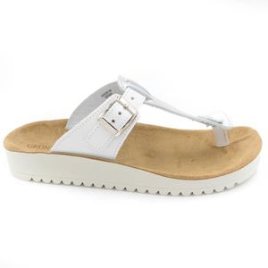 CL2123 41 T 70 sandale argent Grek blanc Grunland 0FngHH
