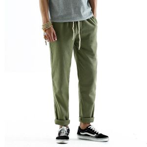 cb206da13f30 Pantalon en lin taille elastique homme - Achat   Vente pas cher