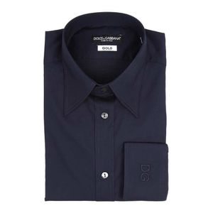 DERBY Dolce & Gabbana Gold Collection Navy Blue Casual S