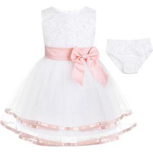 ROBE Robe Princesse Bébé Enfant Fille Robe de soirée ce