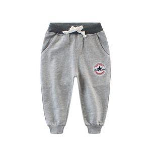 16a14ee35cc01 PANTALON Automne Longue Pantalons Garçon Enfants Élastique ...