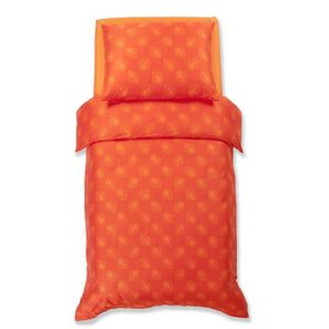 HOUSSE DE COUETTE ET TAIES Odeja Decor Harmony Parure de lit Orange Simple Ho